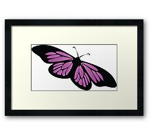 Colored butterfy 5 Framed Print