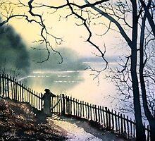 """Wellington Lake, Roundhay Park"" by Glenn  Marshall"