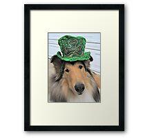 St. Patrick Rough Collie Framed Print