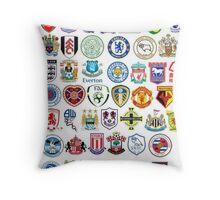 Football teams Throw Pillow