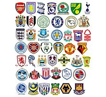 Football teams Photographic Print