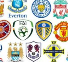 Football teams Sticker