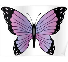 Colorful Butterfly 3 Poster