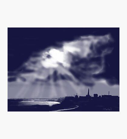 """Storm over Bridlington Bay"" Photographic Print"