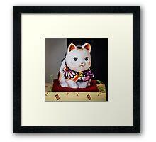 Maneki Neko #4 Framed Print