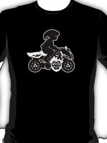 Mario Kart 8 - Master Cycle Silhouette  T-Shirt
