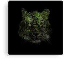 Tiger Spirit forrest Canvas Print