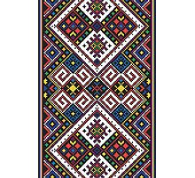 Eastern European Ornamental Pattern Photographic Print
