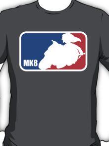 Mario Kart 8 Link on the Mastercycle [sport logo] T-Shirt