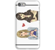 Carmilla and Laura from Carmilla Web Series iPhone Case/Skin