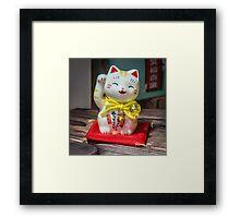 Maneki Neko #5 Framed Print
