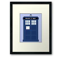 The TARDIS Framed Print