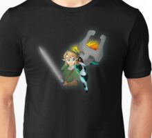 Legend of Zelda - Twilight Princess - Link & Midna Unisex T-Shirt