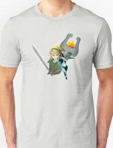 Legend of Zelda - Twilight Princess - Link & Midna Unisex T-Shirt