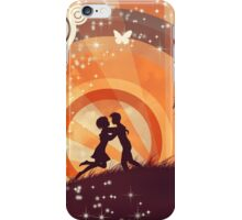 Couple under the tree 3 iPhone Case/Skin