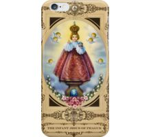 The Infant Jesus of Prague iPhone Case/Skin