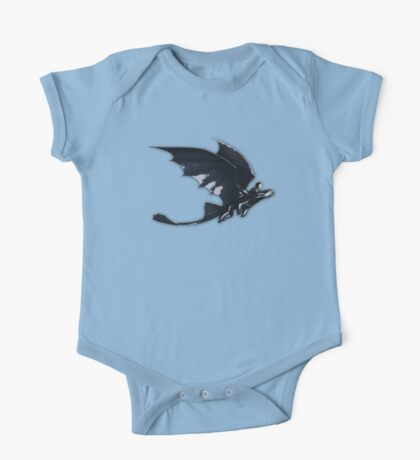 Hiccup and toothless One Piece - Short Sleeve