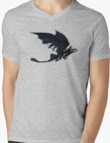 Hiccup and toothless Mens V-Neck T-Shirt