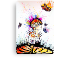Madam butterfly Canvas Print