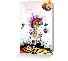 Madam butterfly Greeting Card