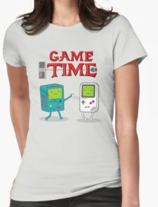 Game Time Womens Fitted T-Shirt