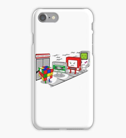 Employment office iPhone Case/Skin