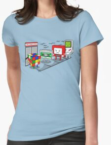 Employment office Womens Fitted T-Shirt