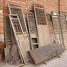 old doors by dominiquelandau