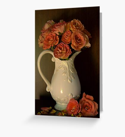 Victorian bouquet Greeting Card