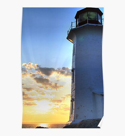 Lighthouse - Peggy Cove Poster