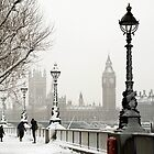 Snow London by Eric Flamant