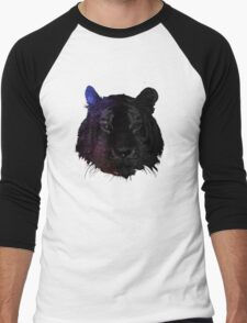 Space tiger2 Men's Baseball ¾ T-Shirt