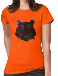 Space tiger2 Womens Fitted T-Shirt
