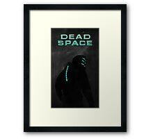 Dead Space - Minimalistic Style Art Work Framed Print