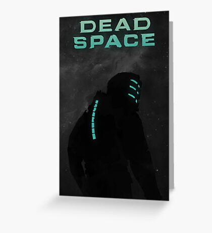 Dead Space - Minimalistic Style Art Work Greeting Card
