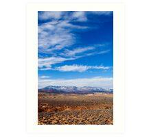 Red Cliffs Desert Reserve Art Print