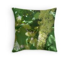 flowering grapes Throw Pillow