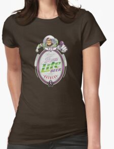 Buzz Lite Beer Womens Fitted T-Shirt