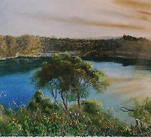 Blue Lake, by anton