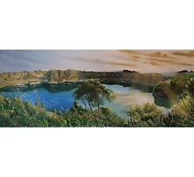 Blue Lake, Photographic Print