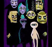 Mod Monster Party by elgatogomez
