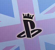 PlayStation Radio UK Mug by SimonSiThornton