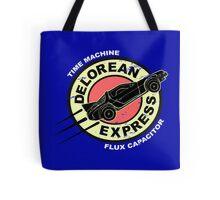 Delorean Express Tote Bag