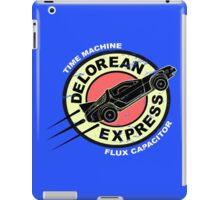 Delorean Express iPad Case/Skin