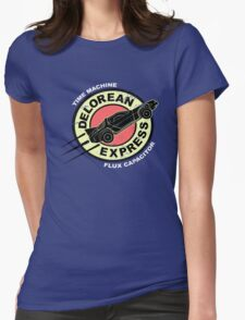Delorean Express Womens Fitted T-Shirt