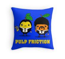 Pulp Friction Throw Pillow