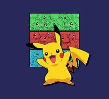 Pokemon Duvet Cover by jeice27