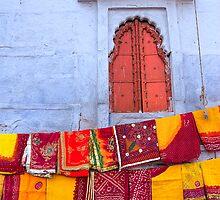 In a Jodhpur Market by Heather Prince ( Hartkamp )
