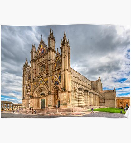 Orvieto Cathedral, Umbria Poster