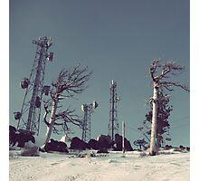 Secret Arctic Station Photographic Print
